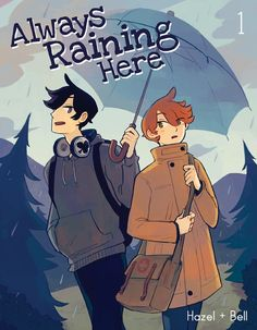 <i>Always Raining Here Volume 1: New edition</i> includes the whole first story of Carter and Adrian's adventures, as well as six pages of bonus comics and extras! Each book is 96 pages long in full colour, perfect bound with a lovely matte cover.