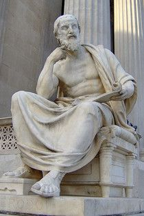 "Herodotus, the ""Father of History,"" was born 485 BC, in Halicarnassus (Bodrum in Modern Turkey), a Greek city in Asia Minor. It is probable that Herodotus was banished early in life, allowing him to travel extensively throughout the Mediterannean world. He exhibited a lively interest in everything he saw, both among Greeks and foreigners. ""The Histories,"" his great work, is a compilation of what he saw and what he heard from others, a two century record of the Persian wars, and the…"