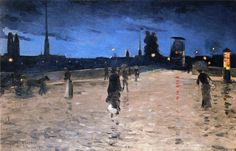 Charles Angrand - Le Pont De Pierre In Rouen jpg Nocturne, Best Artist, Artist Art, Charles Angrand, Prince, Rouen, Best Oils, Post Impressionism, Great Paintings