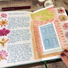 Creative Journal, My Journal, Journal Pages, Journal Ideas, Dutch Door, Bullet Journal Inspiration, Bullet Journals, Filofax, Bujo