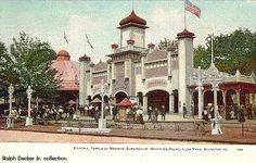 Entrance of Luna Park Scranton, PA
