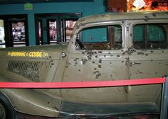 Bonnie and Clyde's Death Car in Primm, Nevada