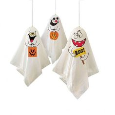Shop Gifts 4 All Occasions Limited 3 Haunted Halloween Hanging Ghost Spooks Scary Party Decoration Balloon Indoor Outdoor Tree Garden Spooky Celling Window, White. Halloween Ghost Decorations, Balloon Decorations Party, Party Decoration, Halloween Ghosts, Halloween Masks, Halloween Kids, Vintage Halloween, Hanging Decorations, Vintage Witch