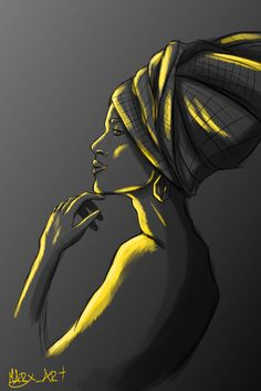 Black Women Art! – Beauty by Marxen