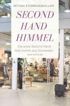 0a185f698efbd Wir besuchten die weltweit erste Second Hand Shopping Mall in Schweden!  Erfahre mehr über das