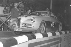 1955 MILLE MIGLIA - Alfa Romeo 1900 Super Sprint Berlinetta. Coachwork by Zagato Chassis no: 01931
