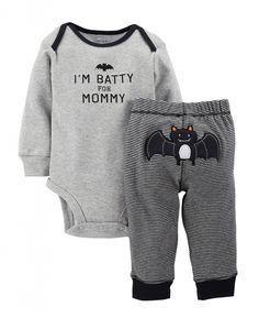 Cute Carter's Baby Boys' 2 Piece Halloween Set (Baby) – Black – Baby Halloween…