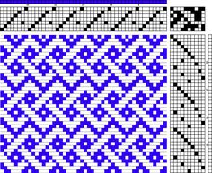 Simplified Celtic Braid wonderful draft, shared on weavolution, the top pick is an error, line omit it and it works beautifully. Inkle Weaving, Card Weaving, Tablet Weaving, Paper Weaving, Tapestry Weaving, Weaving Designs, Weaving Projects, Weaving Patterns, Knitting Designs