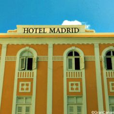Some little known facts about the Hotel Madrid in Las Plamas de Gran Canaria from Gran Canaria Local