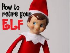 in a happy nest: Goodbye Elf on the Shelf