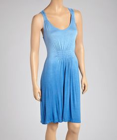 This Royal Ombré Sleeveless Dress - Women by Raya Sun is perfect! #zulilyfinds