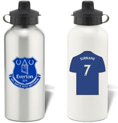 Keep yourself hydrated in style with your own personalised Everton FC water bottle. Personalised Childrens Gifts, Aluminum Water Bottles, Everton Fc, Personalized Water Bottles, Sports, Style, Personalized Gifts For Kids, Custom Water Bottles, Hs Sports