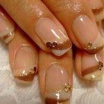 Latest Nail Art Designs For Wedding Brides 2012-2013
