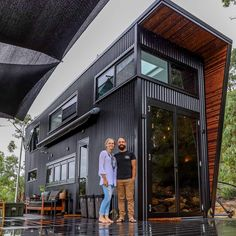 Tiny House Living 85510 Shipping Container Home Designed For Sustainable Family Living Modern Tiny House, Small House Design, Tiny House Plans, Modern House Design, Tiny House For Big Family, Building A Tiny House, Tiny House Shipping Container, Building A Container Home, Container House Plans