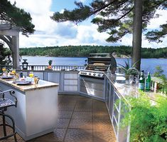 Beautiful Outdoor Kitchen Designs : Outdoor Kitchens Design LaurieFlower 011