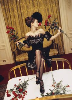 1992 dress Christian Lacroix Haute Couture Spring-Summer