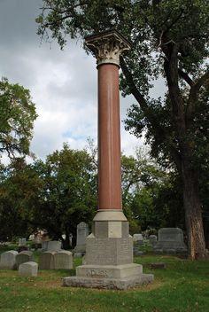 gravesite of Dankmar Adler (1844-1900) and family    Adler & Sullivan formed one of Chicago's most famous architecture firms.