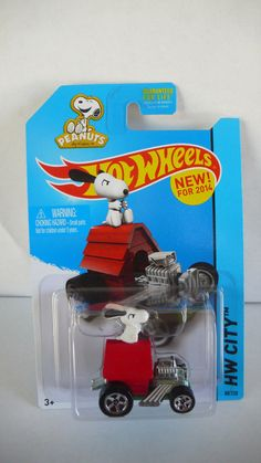 2014 Hot Wheels New Release ''HW City''Snoopy '' NIP!!!!