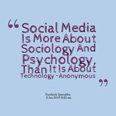 #socialmedia is #personal, #customized and targets the hearts rather than the minds of its users