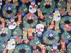 Tecido Boneco de Neve, 100% algodão, compre aqui: http://www.quianestore.com/Tecido-100-Algodao-estampado-Boneco-de-Neve--Natal--Produtos-Tema-Natal-_cod_294