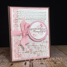 Stampin Up - Background Bits Cardio Cards, Card Making Techniques, Paper Cards, Creative Cards, Flower Cards, Card Templates, Stampin Up Cards, Scrapbook Pages, Thank You Cards