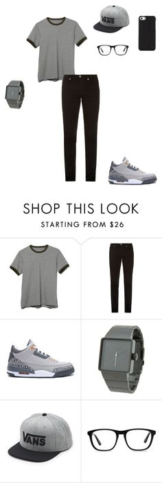"""""""If I Were A Boy"""" by young-zendaya05 on Polyvore featuring L.L.Bean, McQ by Alexander McQueen, NIKE, Nixon, Vans, Ace and Polo Ralph Lauren"""