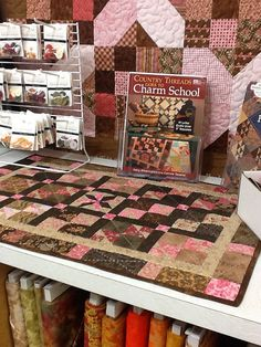 Country Threads Goes to Charm School by Martingale | That Patchwork Place, via Flickr