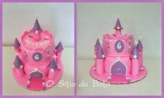 O sitio do bolo: Bolo Castelo para a princesa Beatriz