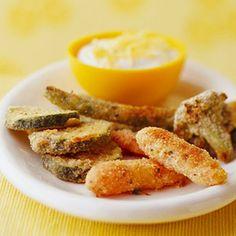 Oven Fried Vegetables