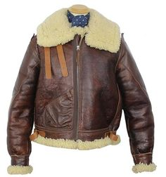 Type B-3 Contract No. 42-22899-P sheepskin jacket - Aero Leathers, UK