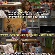 "#YoungAndHungry 1x04 ""Young & Pregnant"" - Gabi and Caroline"