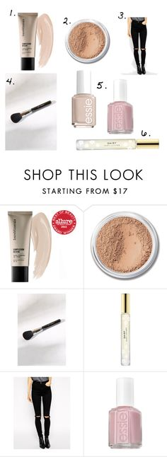 """""""February Favorites"""" by lolson115 ❤ liked on Polyvore featuring beauty, Bare Escentuals, Sigma, Marc Jacobs, ASOS and Essie"""