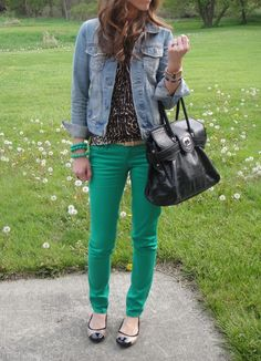 I need a pair of green pants!