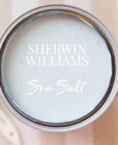 Sherwin Williams Sea Salt Paint Color - Home: Living color