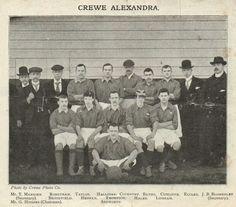 Crewe Alexandra team group in 1902.