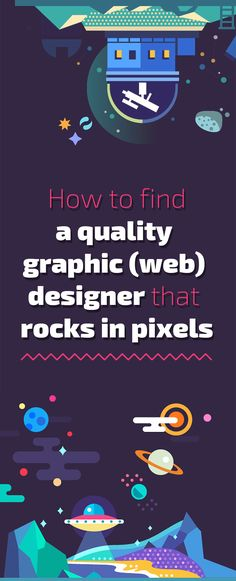 How to find a quality graphic (web) designer that rocks in pixels #webdesign #web #design #piotr #wolniewicz #inspiration