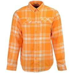 Columbia Men's Tennessee Volunteers Flare Gun Flannel Long Sleeve... ($60) ❤ liked on Polyvore featuring men's fashion, men's clothing, men's shirts, men's casual shirts, mens longsleeve shirts, mens casual long sleeve shirts, mens long sleeve shirts and columbia mens shirts