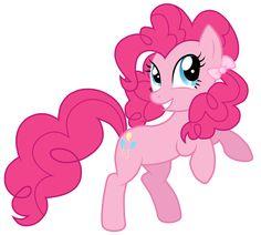 pinkie pie with a ponytail