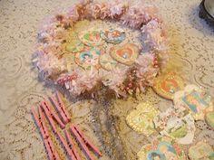 Pollyanna Reinvents: 1930's Valentine Wreath