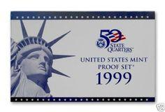 1999-United-States-Mint-Proof-Set-9-Coins-COA-OGP
