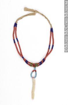 Ожерелье, Черноногие? 1870-1900. МсСоrd Museum.