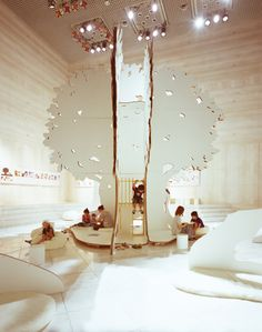 wow. look at that play tree. via dwell.com mikiko endo