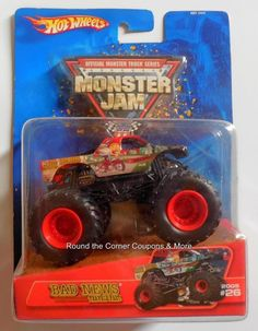2005 Hot Wheels Monster Jam Sudden Impact 27 Ford Grille VHTF 1 64 for sale online Crazy Cars, Weird Cars, Monster Jam, Monster Trucks, Sudden Impact, Red Paint, Bad News, Old And New, Hot Wheels