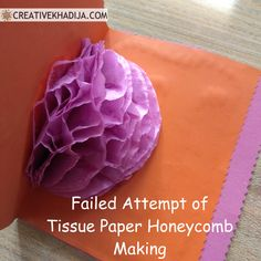 How To Create a Honeycomb & How to avoid Craft Fail Crafts For Teens, Crafts To Make, Fun Crafts, Paper Crafts, Diy Tassel Earrings, Bar Stud Earrings, Tattoo Word, How To Make Dough, How To Make Tassels