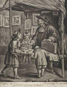Jan van Somer (1645-1699): shop at the fair , 1675 , Rijksmuseum, Amsterdam Photo © Rijksmuseum, Amsterdam