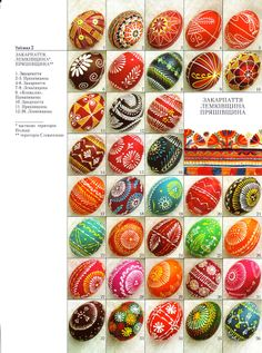 Ukrainian Book Folk Pysanky Easter Egg Vira Manko | eBay