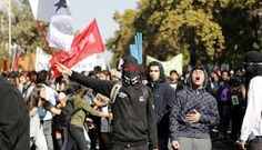 Résultats de recherche d'images pour «protestas estudiantiles en chile»