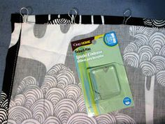 Replacing vertical blinds with curtains tutorial...