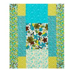 color option for bold statement quilt from summer 2011 quilts and more