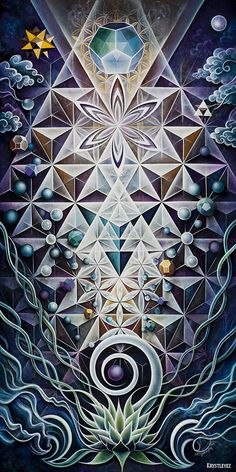 Sacred Mirror by Krystleyez / Sacred Geometry <3